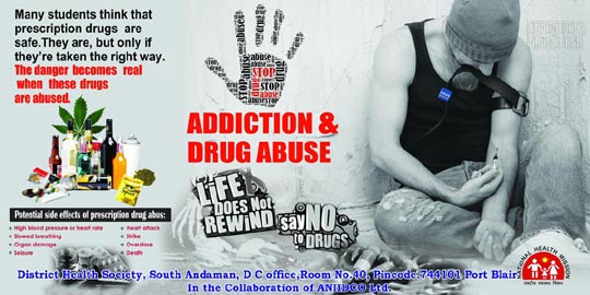 Don't Abuse Drugs - ANIIDCO
